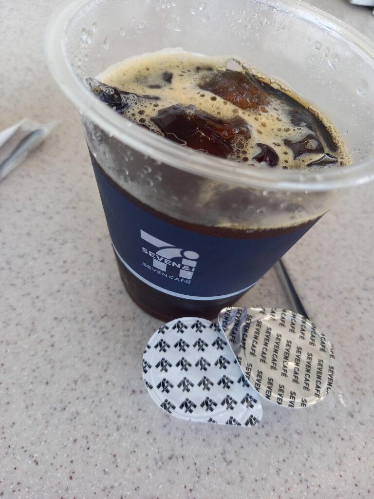 セブンカフェアイスコーヒーのキリマンジャロ