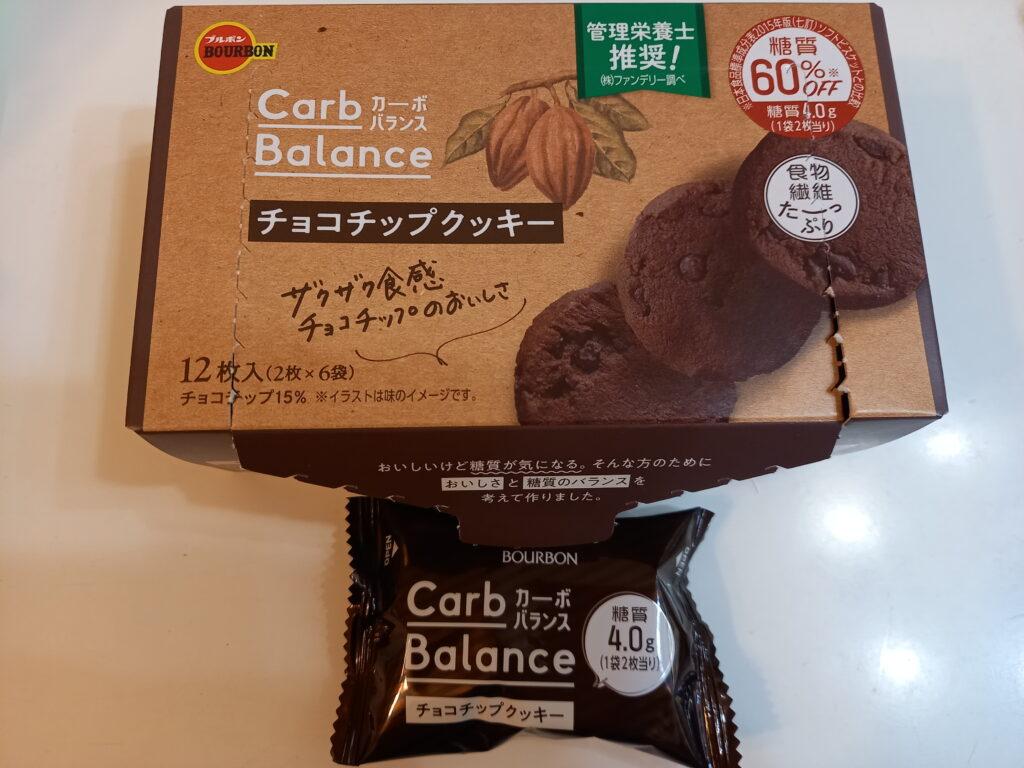 チョコチップクッキー1箱