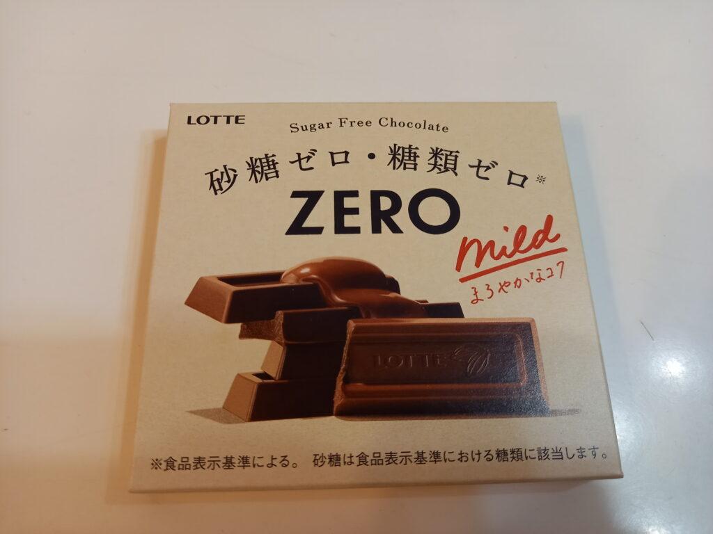 ZEROチョコレートのお菓子